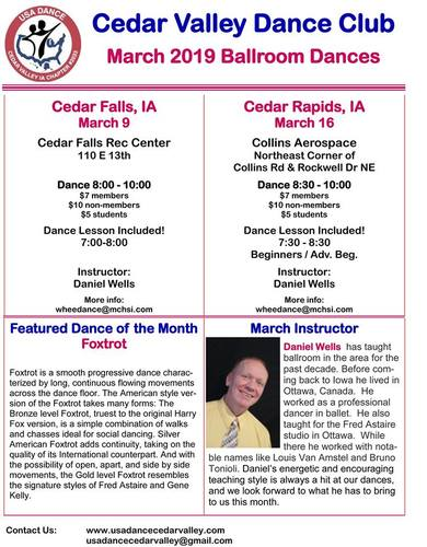 Ballroom and Latin Dancing at Collins Aerospace Recreation Center
