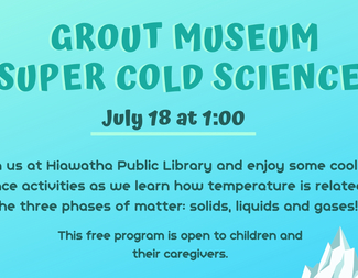 Search grout museum super cold science