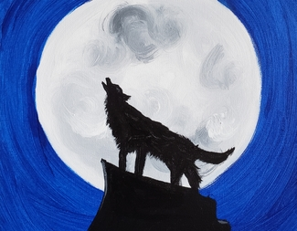 Search kids   wolf moon