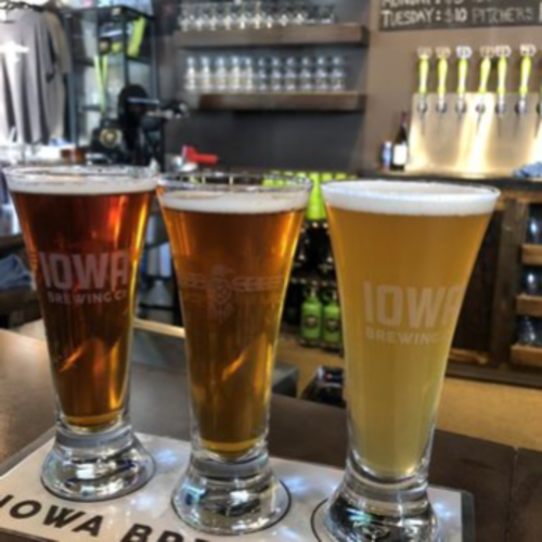 Let Us Serve You at Iowa Brewing Company