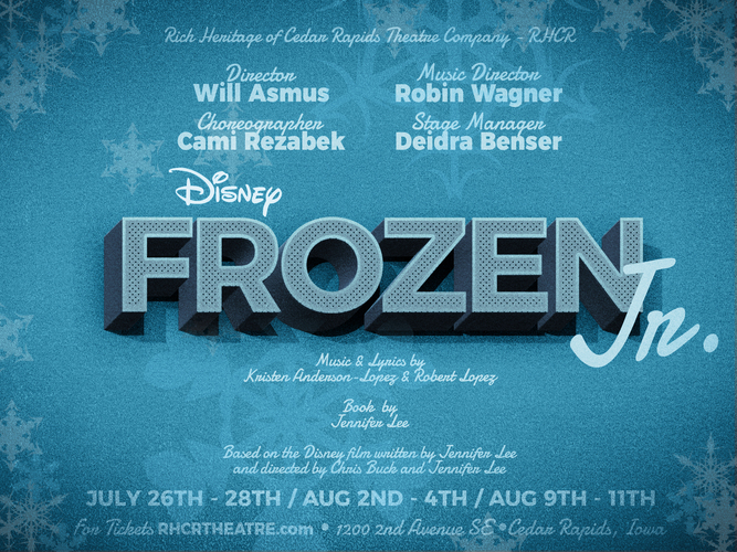 RHCR Theatre Presents: Disney's FROZEN JR.