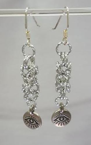 Byzantine Dangle Earrings through Kirkwood Community College