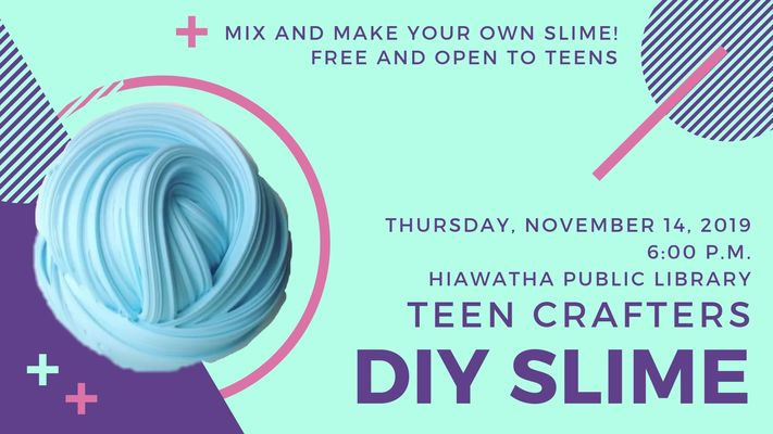 Teen Crafters: DIY Slime