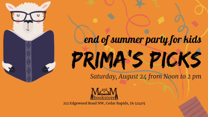 CANCELLED: Prima's Picks End of Summer Party for Kids and Families