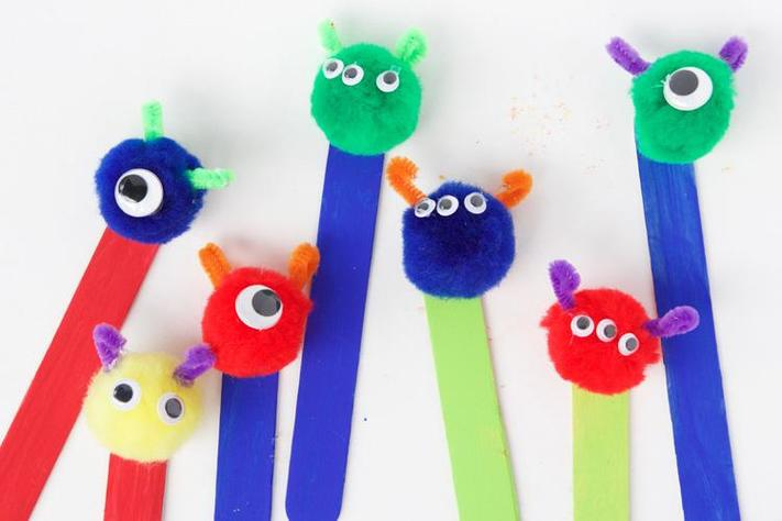 Sunday Funday: Monster Bookmarks