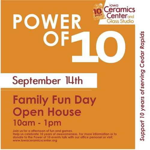 10 Year Anniversary Celebration---Free Family Fun Day / Open House