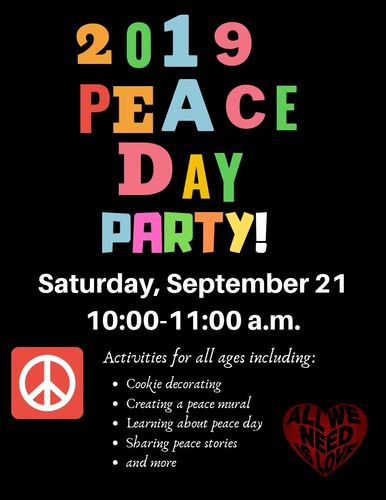 2019 Peace Day Party