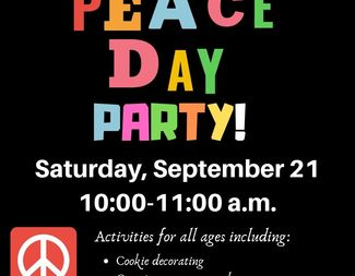 Search peace day party