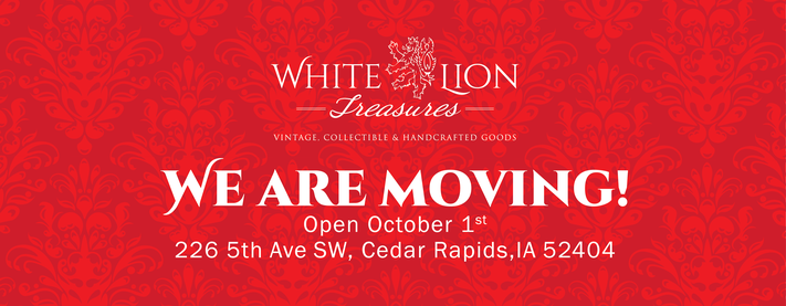 White Lion Treasure Moving Sale