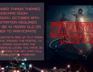 Search stranger things escape room
