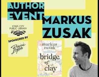 Search author event markus zusak