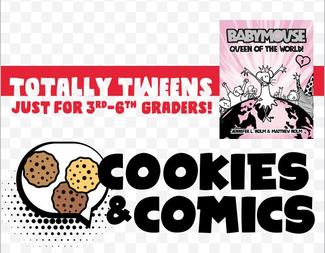 Search cookies and comics