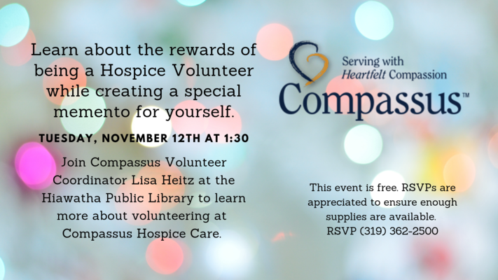 Volunteer with Compassus Program
