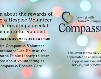 Search compassus volunteering