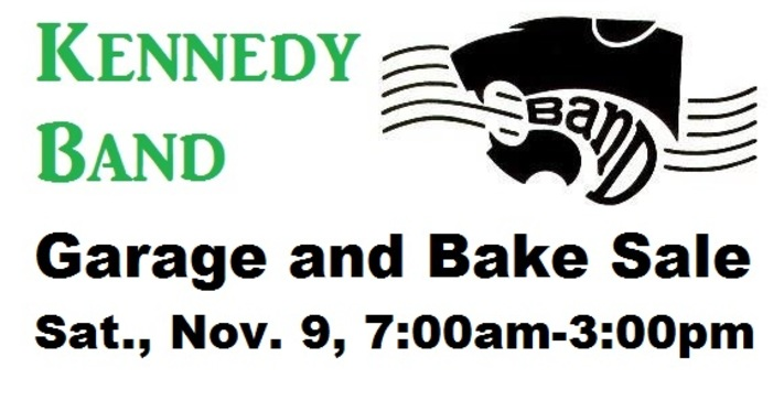 Kennedy Band Garage and Bake Sale