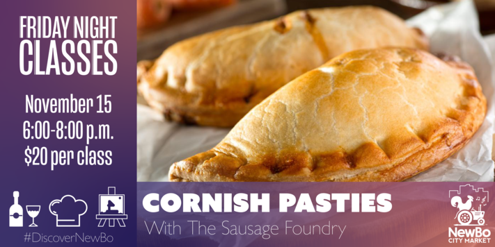 Friday Class: Cornish Pasties with Sausage Foundry