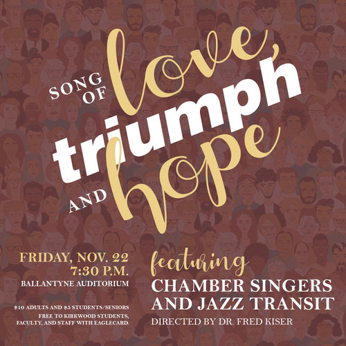 Vocal Concert: Song of love, triumph and hope