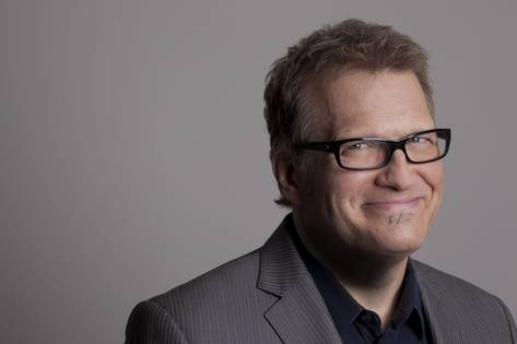 REVIEW: Drew Carey gets carried away, drawing lots of Englert laughs