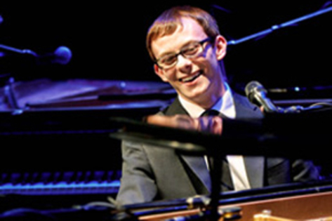 Chase Garrett boogies back to Iowa City with piano stomp